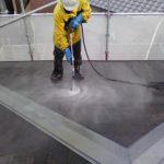 岡崎市 塗装施工 水洗い