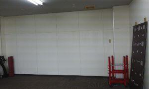 ジム 壁内部塗装5