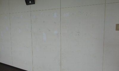 ジム 壁内部塗装2