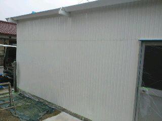 刈谷市 車庫 塗装1