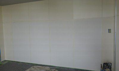ジム 壁内部塗装4