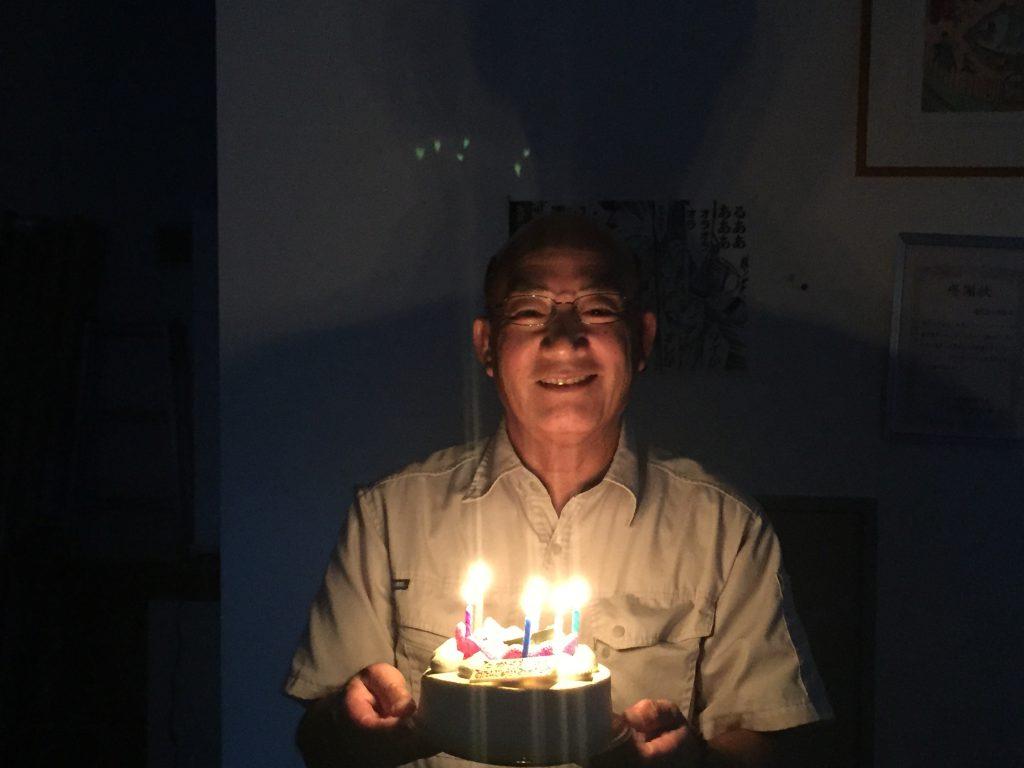 高桑さん 誕生日2