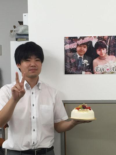 永田さん誕生日