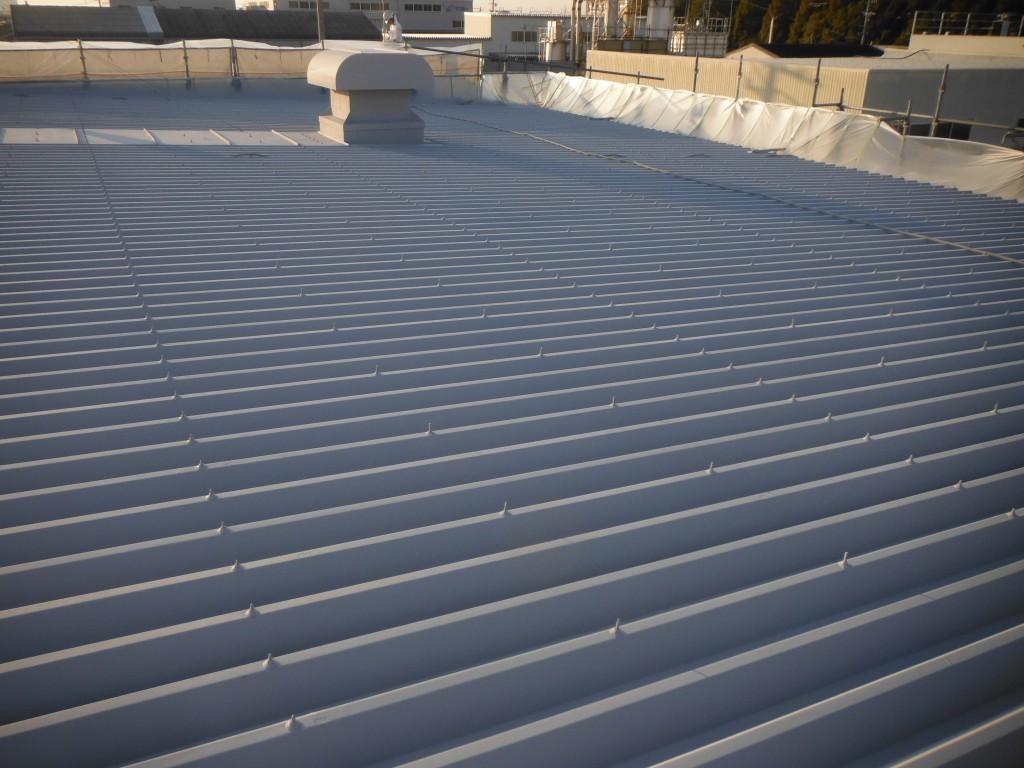 工場 屋根塗装