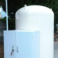 ガス屋さんのガスタンク塗装