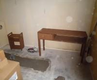 愛知県 三河地方 美容室 内部・建具塗装