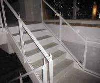 岡崎市 塾 階段塗装