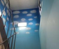 西尾市 店舗 内壁塗装