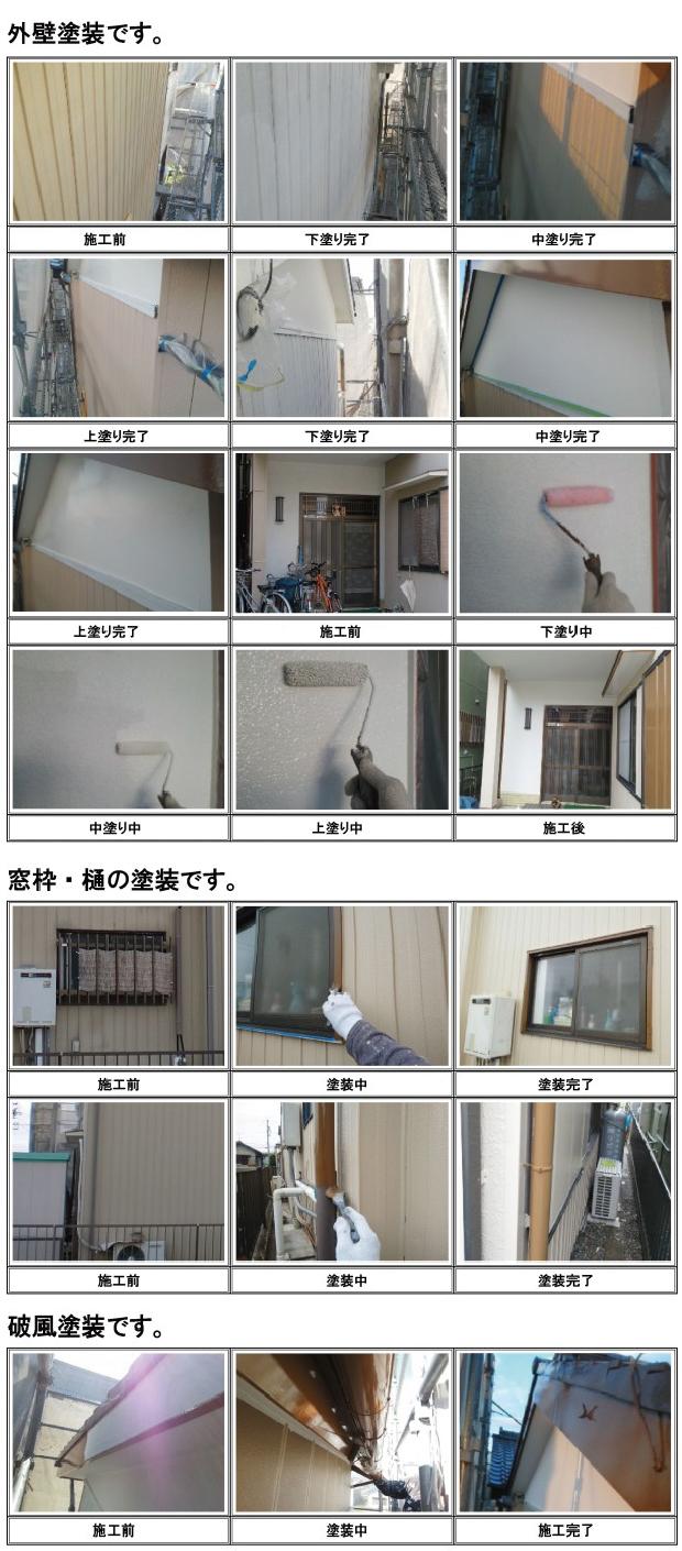 外壁塗装〜破風塗装