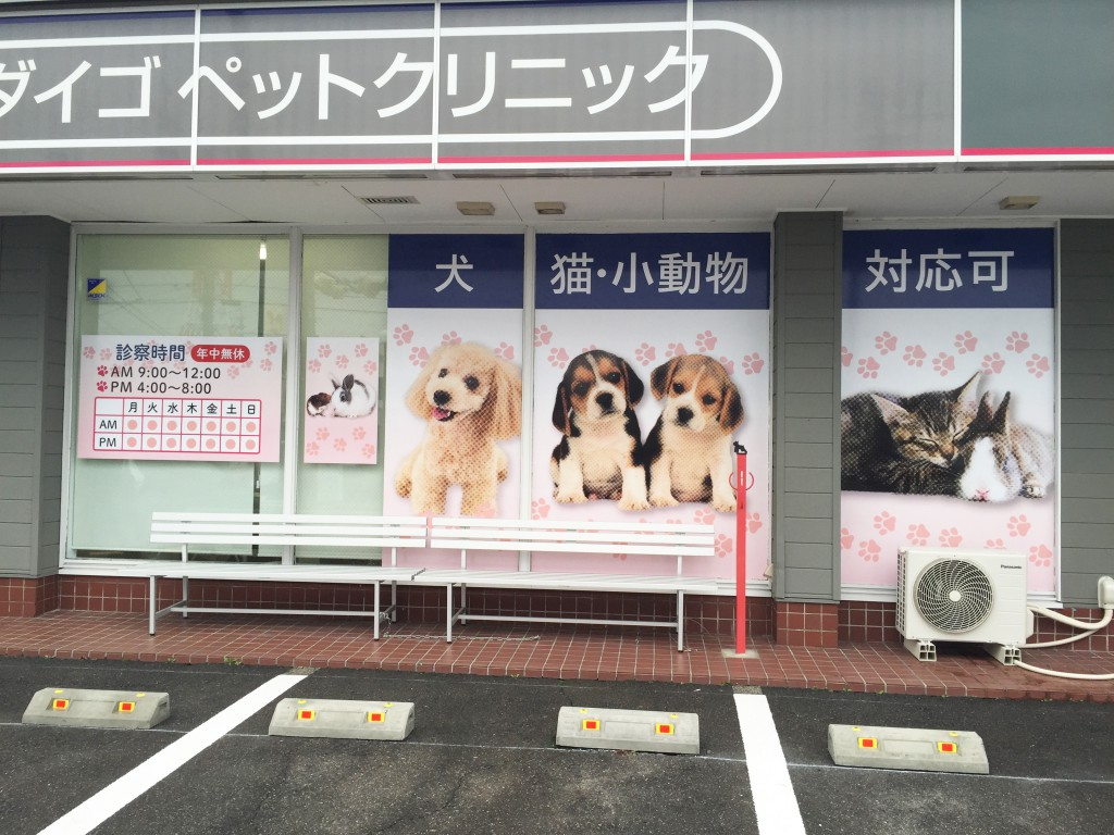 ダイゴペットクリニック豊田 窓