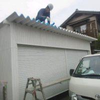 車庫 塗装2