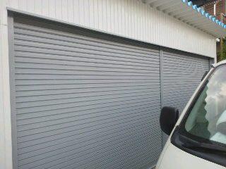 車庫 シャッター 塗装