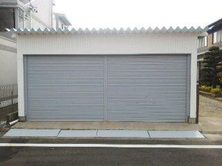 刈谷市 車庫 塗装2