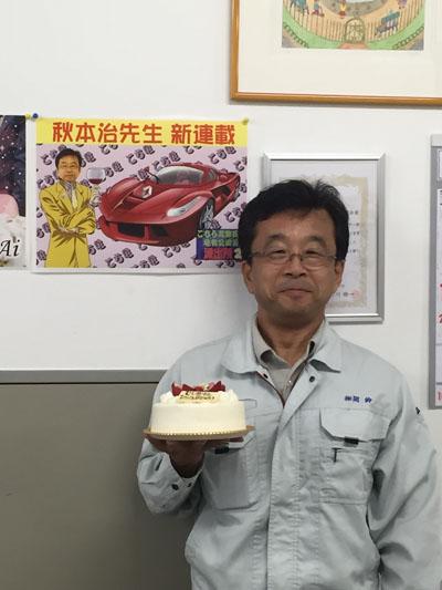 虫賀さん誕生日